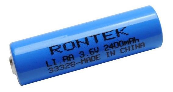 Bateria 3,6v 2400mah Aa Er14505 Lítio 33328