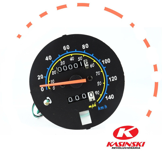 Velocimetro Original Kasinski Para Moto Seta 125 2009/10