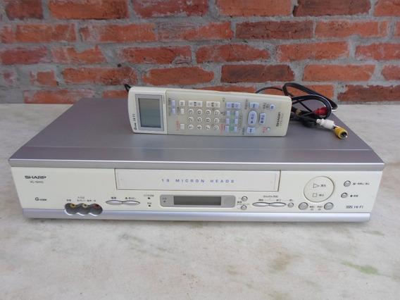 Video Cassete Sharp 19 Micron Heads Vg-gh10 G-code 110 Volts