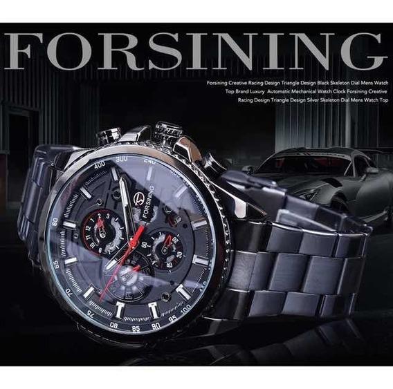 Relógio Masculino Forcining Automático Frete Grátis