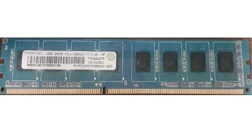 Memoria Ram 4gb Ddr3 Pc3- 12800u Ramaxel