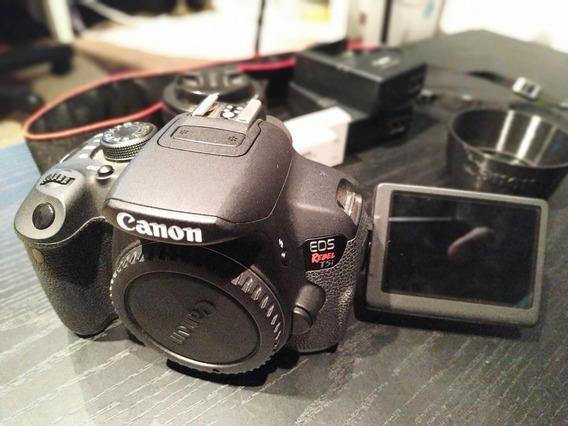 Canon T5i Rebel + 50mm Ef 1.8 Stm
