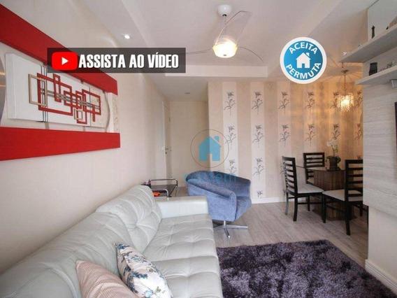 Ap0039- Apartamento Com 3 Dormitórios À Venda, 62 M² Por R$ 425.000 - Km 18 - Osasco/sp - Ap0039