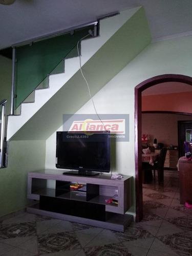 Sobrado Com 5 Dormitórios À Venda, 235 M² - Vila Monteiro Lobato - Guarulhos/sp - Ai15163