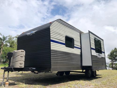 Imagen 1 de 15 de Motor Home Trailewr Home 2019 Shasta 23 Pies Casa Rodante Ac