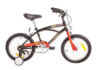 Bicicleta Playera Rodado 16 Halley 19055 Rueditas Varon Nene