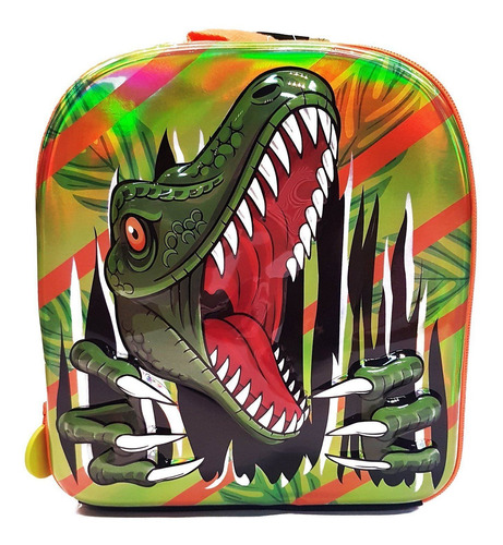 Imagen 1 de 1 de Lonchera Escolar Infantil De Dinosaurio Para Lunch