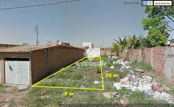 Terreno À Venda, 125 M² Por R$ 69.499 - Jardim Novo Ii - Rio Claro/sp - Te0412