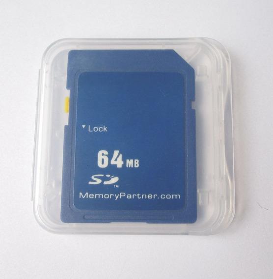 Cartão De Memória Sd 64mb - Pronta Entrega 64 Mb