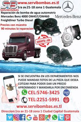 Bombas De Agua Mercedes Benz 460/4000 Freightli Guatemala