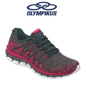 Tênis Olympikus Diffuse 2 Pink Petroleo Feminino Original