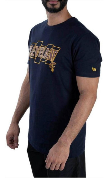 Camiseta New Era Nba Cleveland Cavaliers Essentials Five