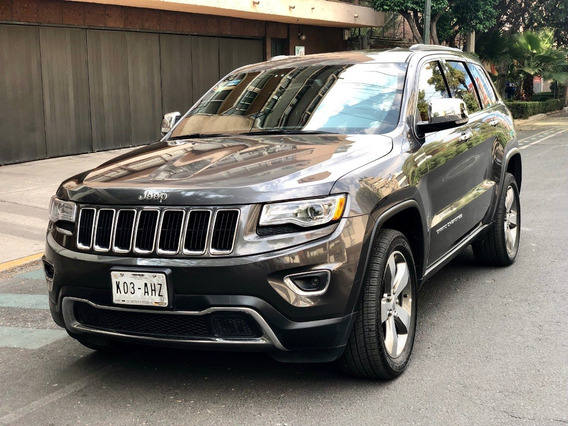 Jeep Grand Cherokee Limited Lujo V6 Faros Led Rin 20 Qc