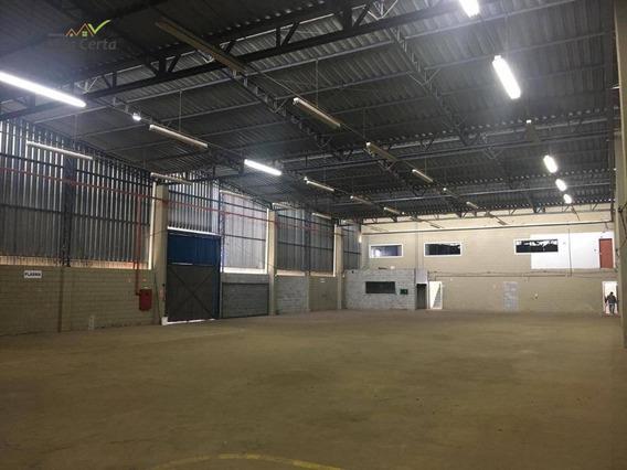 Galpão Para Alugar, 1300 M² Por R$ 12.000/mês - Parque Industrial Mogi Guaçu - Mogi Guaçu/sp - Ga0009