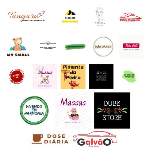 Imagem 1 de 10 de Logomarca Logotipo Temos Criação De Conteúdo De Mídia Social