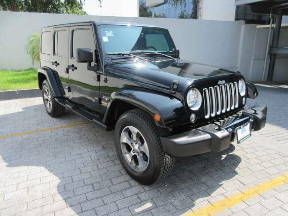 Jeep Wrangler 2017 3.7 Unlimited Sahara 3.6 4x4 At