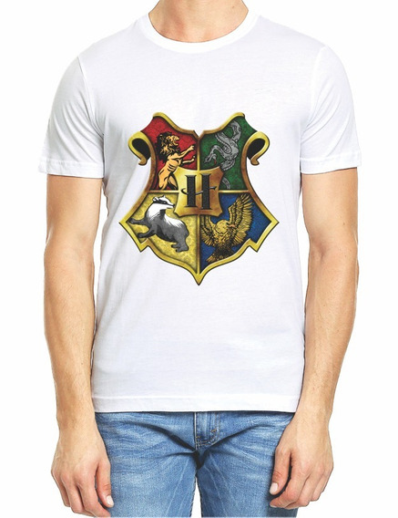 Playera Colegio Hogwarts De Harry Potter M2