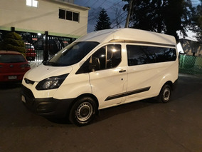 Ford Transit 2.2 Van Larga Techo Alto Aa Custom Mt 2015