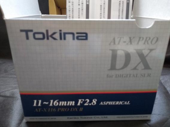 Lente Tokina 11 16 Pra Nikon