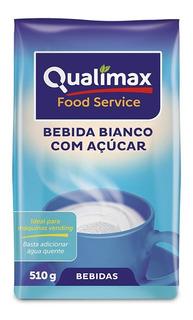 Leite Em Pó C/açúcar Qualimax 510g Máquina De Café Kit 6 Un.