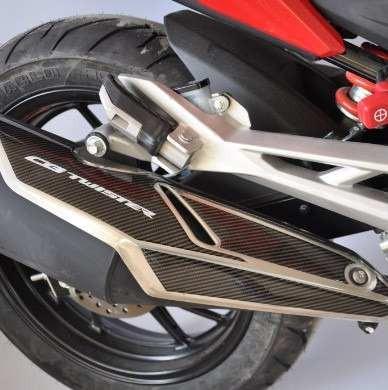 Adesivo 3d Protetor Escapamento Moto Honda Cb 250 Twister