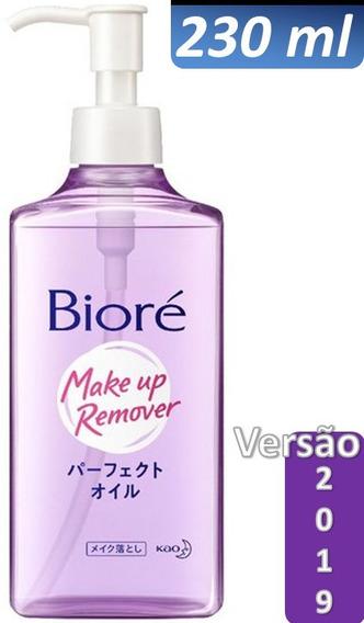 Biore Demaquilante Roxo Óleo Perfect Cleansing 230ml Removedor Maquiagem Protetor Solar Original Asiático Made In Japão