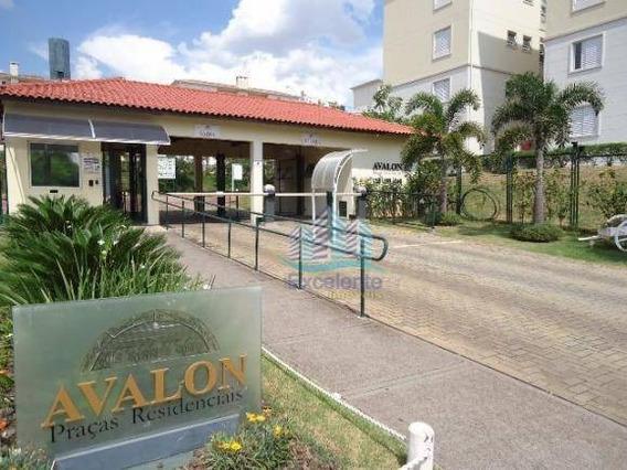 Apartamento Com 3 Dormitórios, 70 M² À Venda Por R$ 280.000 E Locação Por R$1.100 - Condomínio Avalon - Hortolândia/sp - Ap0308