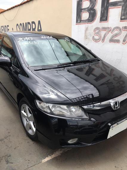 Honda Civic Preto Completo 2010 1.8