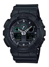 Relógio Masculino G-shock Preto Casio Ga-100mb-1adr