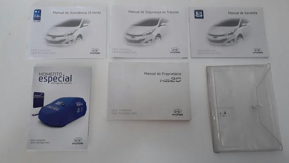 Manual Do Proprietário Hyundai Hb20 Original