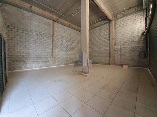Imagem 1 de 8 de Salão Para Alugar, 106 M² Por R$ 3.000,00/mês - Vila Carlina - Mauá/sp - Sl0165
