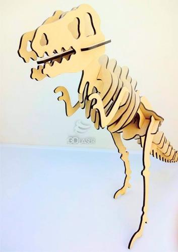 Imagen 1 de 4 de T-rex / Tiranosaurio Rex / Dinosaurio - Mdf / Fibrofacil