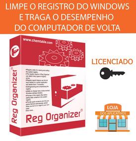 Reg Organizer+licença/repare Os Erros No Registro Do Windows