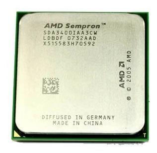 Processador Amd Sempron 1.8ghz Am2 3400 Kit C/3