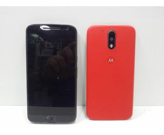 Motorola Moto G4 Plus 32gb Xt1640 C/ Defeito Na Placa E Tela