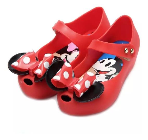 Zapato Niña Mini Melissa Minnie 13 A 18 Cm