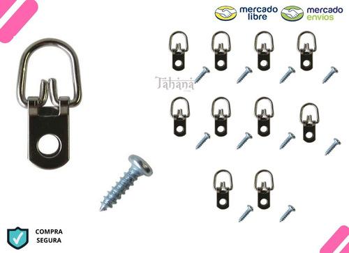 Porta Cuadros Perchas Tornillos Do - Unidad a $1194