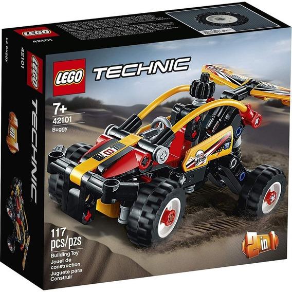 Lego Technic Buggy 117 Peças - Lego 42101
