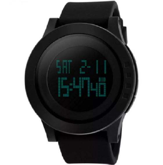 Relógio Skmei Led Digital 1142 Preto Origina À Prova D