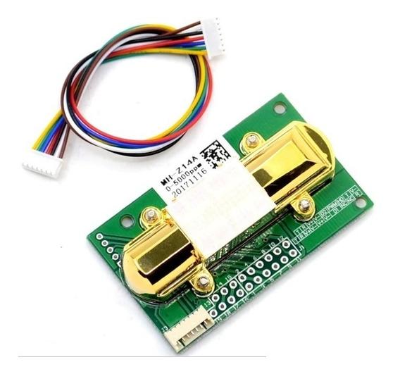 Mh-z14 Sensor Infravermelho De Dióxido De Carbono Co2