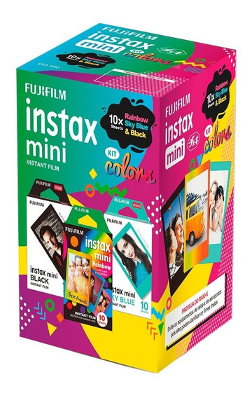 Filme Instax Mini Com 30 Fotos - Fujifilm