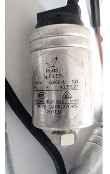 Capacitor Aluminio 5uf X 450v +-5% - Capacitor Lava Louça