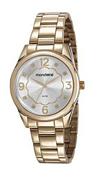 Relógio Mondaine Feminino 83426lpmvde1 Dourado Original