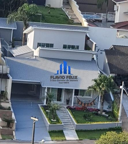 Casa Em Condominio Aruja Hills 3 Semi-terreá Pronta Para Morar 3 Suites - 604