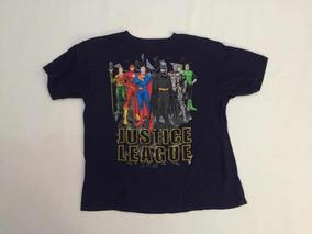 Playera Justice League Adolescente Talla Xl