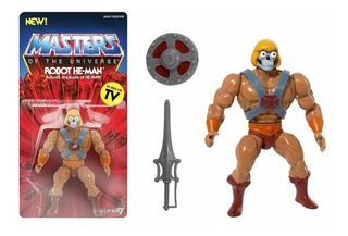 Super7 Masters Of The Universe Vintage Robot He-man