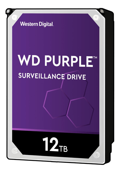 Disco duro interno Western Digital WD Purple WD121PURZ 12TB púrpura