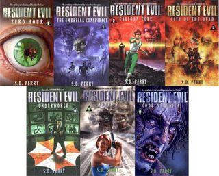 Resident Evil (biohazard) - S.d. Perry (pack 7 Libros)