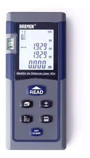 Telemetro Medidor De Distancia Laser Bremen® 7028 40 Metros
