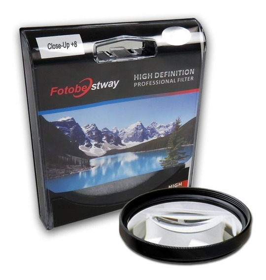 Filtro Para Câmera Close Up +8 - Fotobestway 58mm